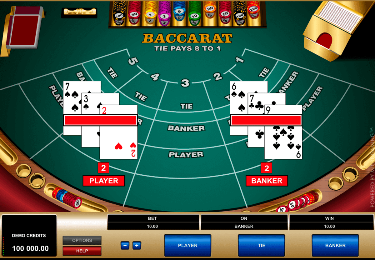 Baccara Kartenspiel 728164