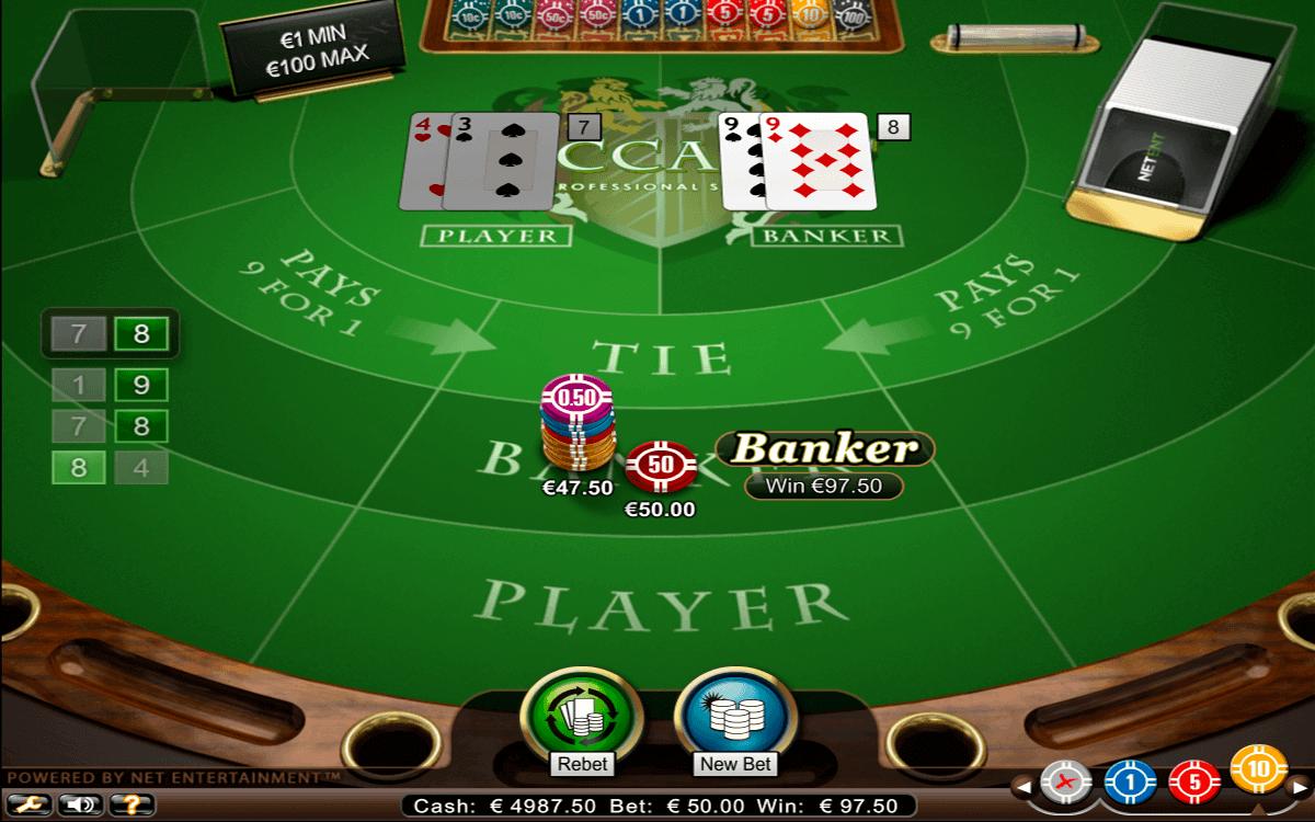 Baccara Kartenspiel 917255
