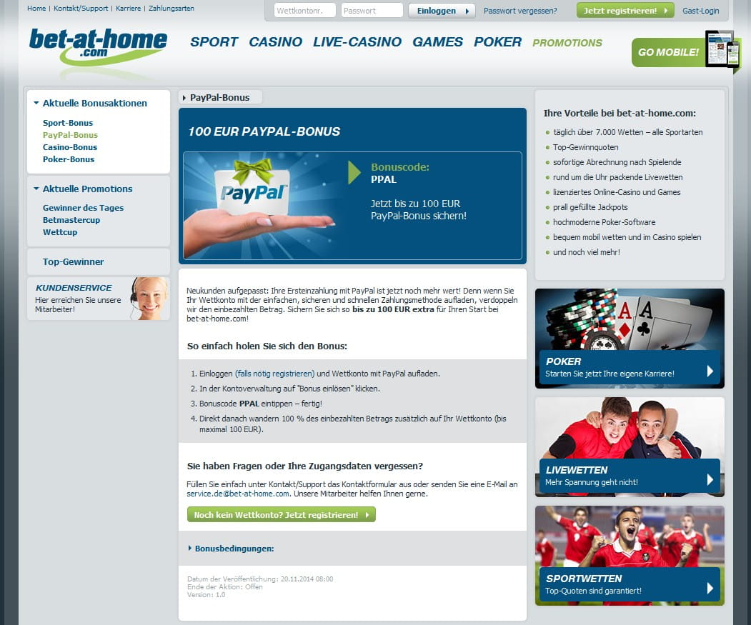 Sportwetten Bonus 175807