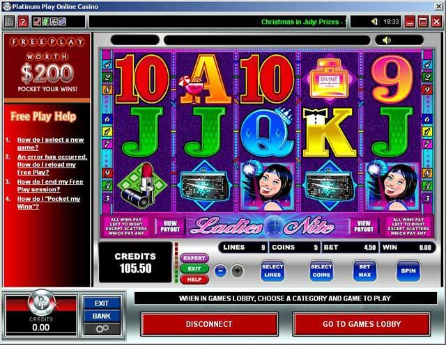 Spielautomat Gewinnchancen Platinum 540227
