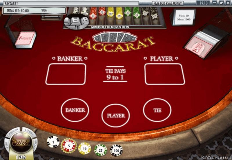Baccara Kartenspiel 804250