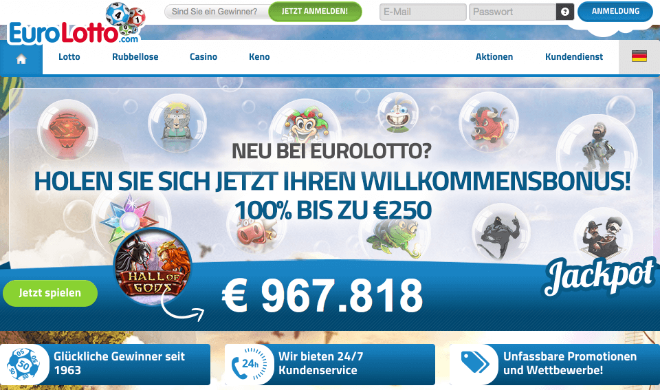 Lotto spielen Europaplay 983095
