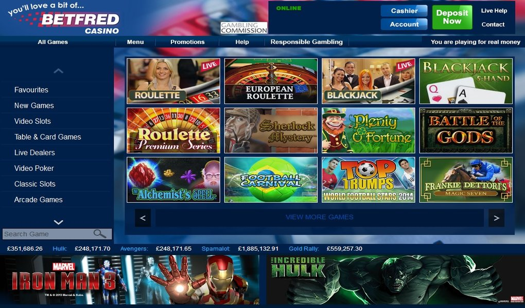 Betfred Playtech Casino 892921