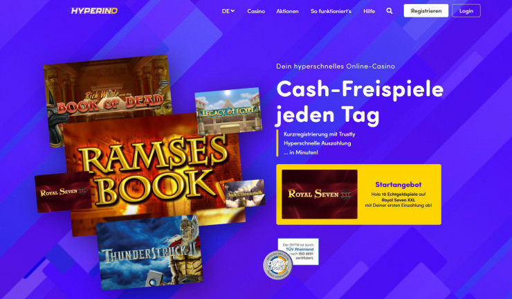 Seriöses online Casino 567894