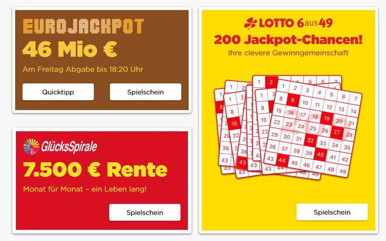 Gewinnchance Glücksspirale Kreditkarten 633366