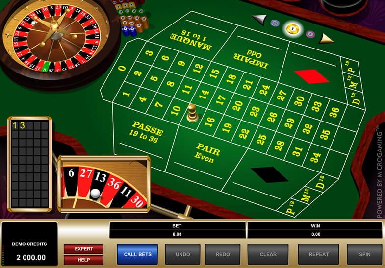 Roulette Tisch 567834
