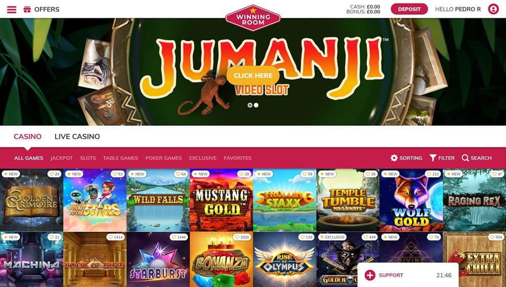 Jumanji Bonus 21Prive 60842