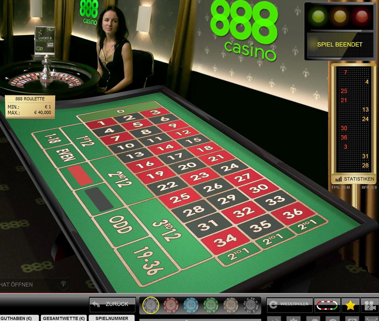 Europäisches Roulette 939265
