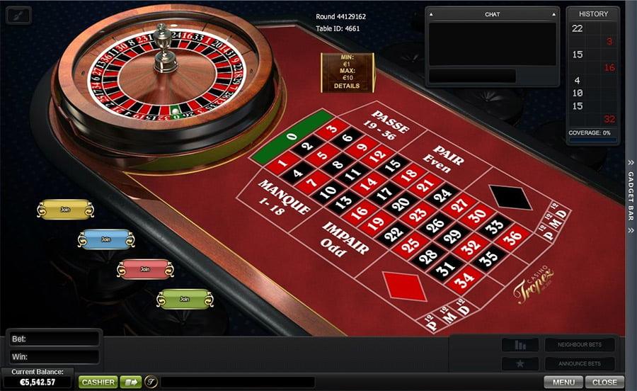 Roulette Tisch 404594