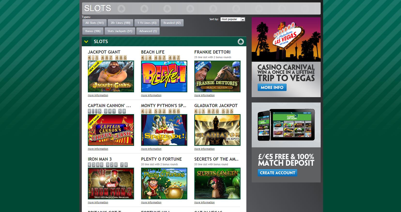 Casino Bonus 317822