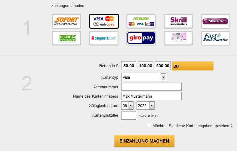 Kreditkarte Für online 583243