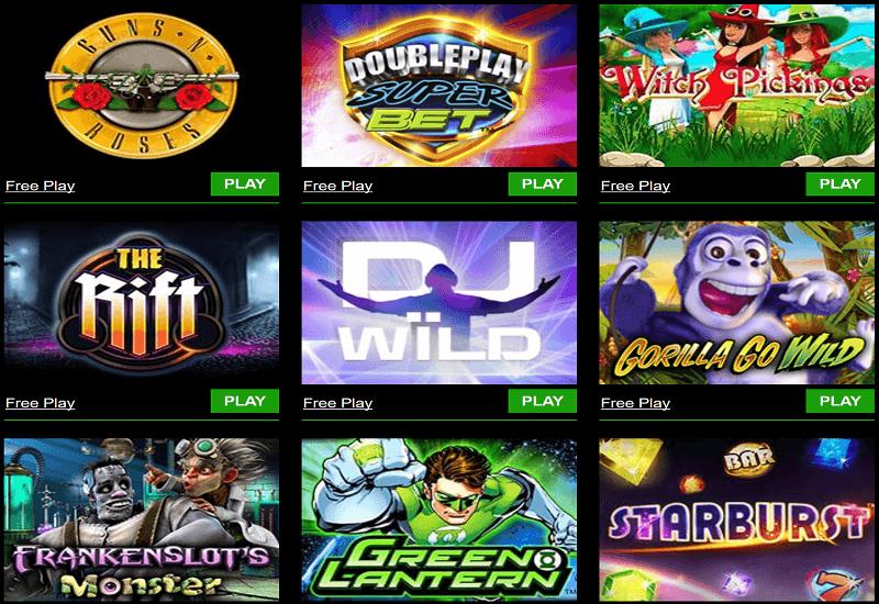 Bonus Spiele Casino 156790