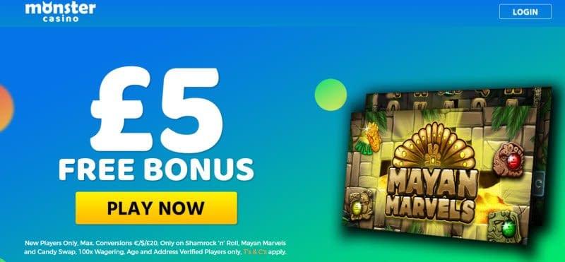 Casino Bonus Codes 827493