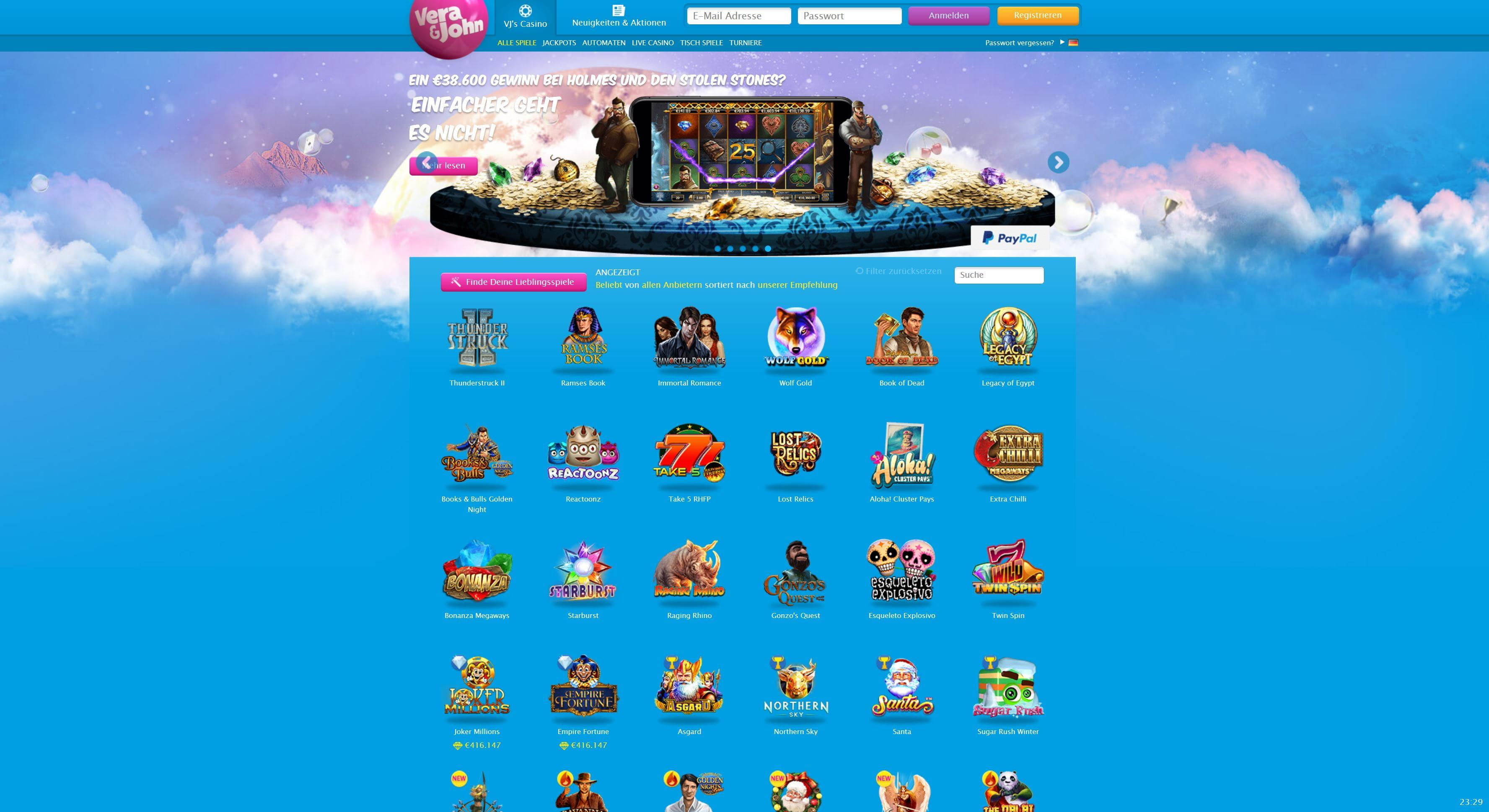 Casino Registrieren Vera 890110