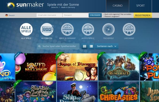 Deutsche online Casino 648542