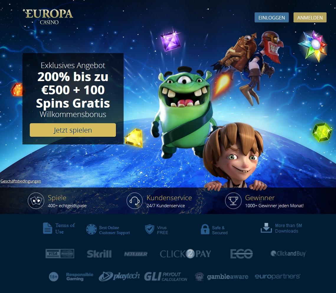 Europa Casino 93321