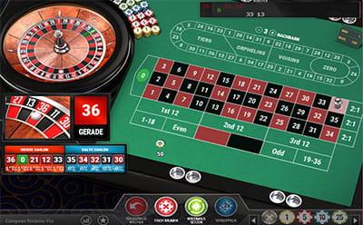 Europäisches Roulette Hier 84310