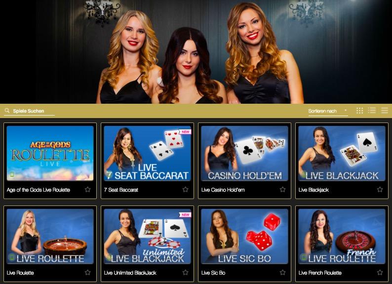 Live Casino 355165
