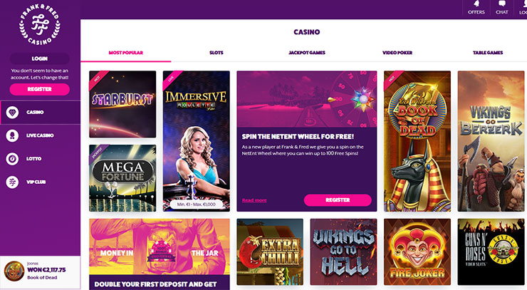Neues Live Casino 607855