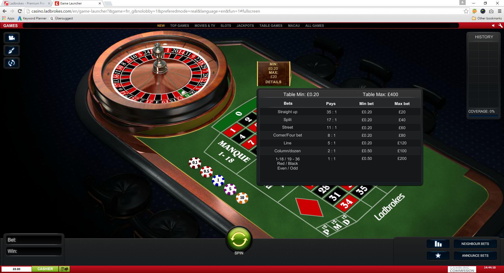 Roulette ohne 738627