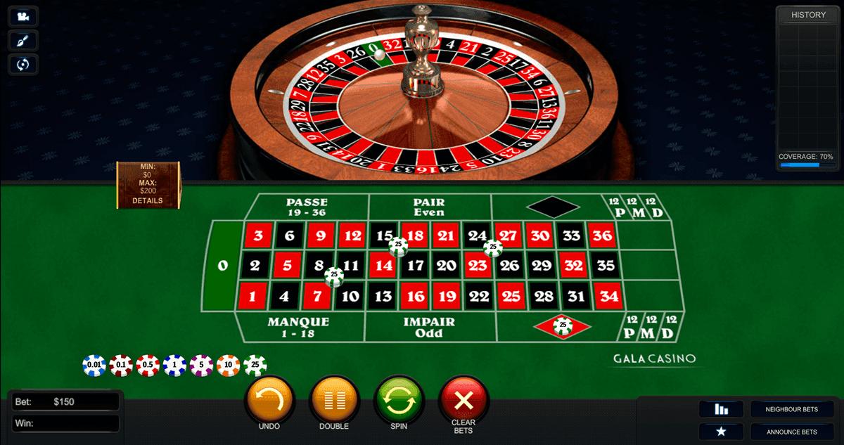 Roulette Tisch 492118