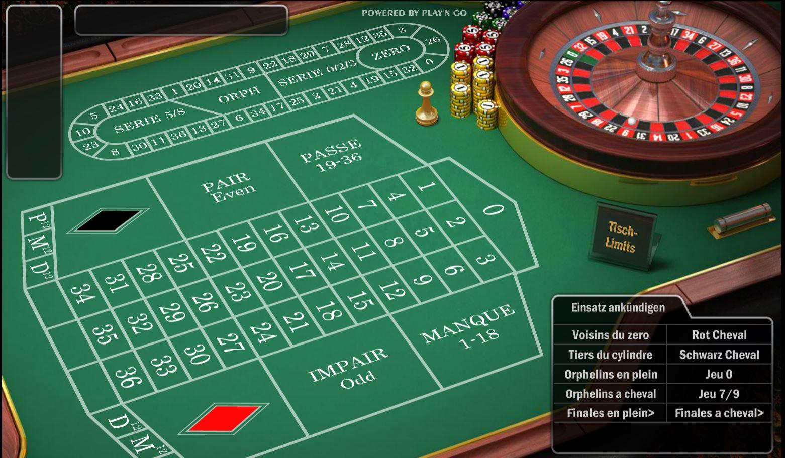 Roulette Zero Spiel 962102