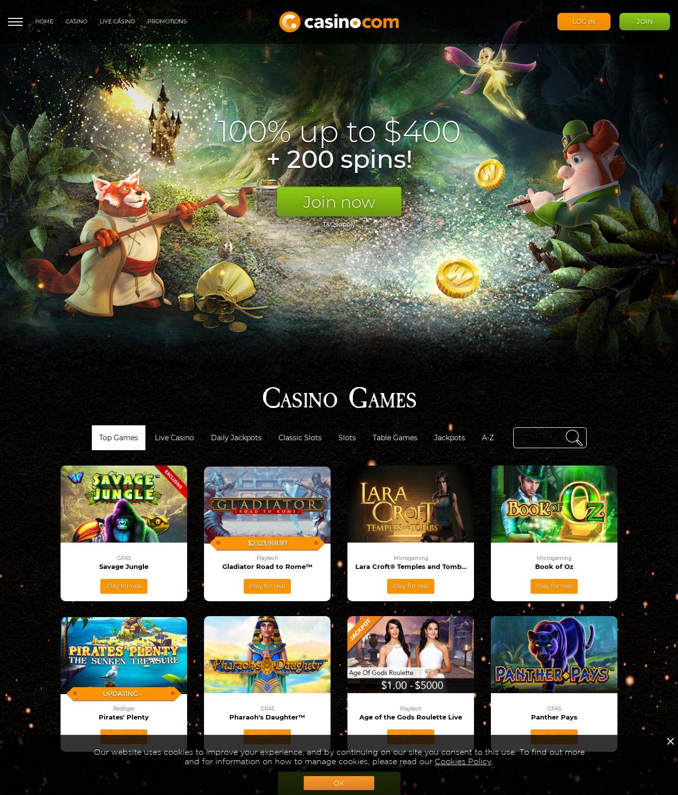 Secret Casino Bonus 785074