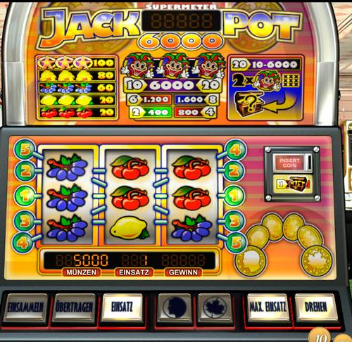 Spiele Auswahl Jackpot 790004